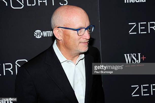 Alex Gibney attends WSJ Presents the New York Premiere of ZERO DAYS at New York Institute of Technology on June 23 2016 in New York City