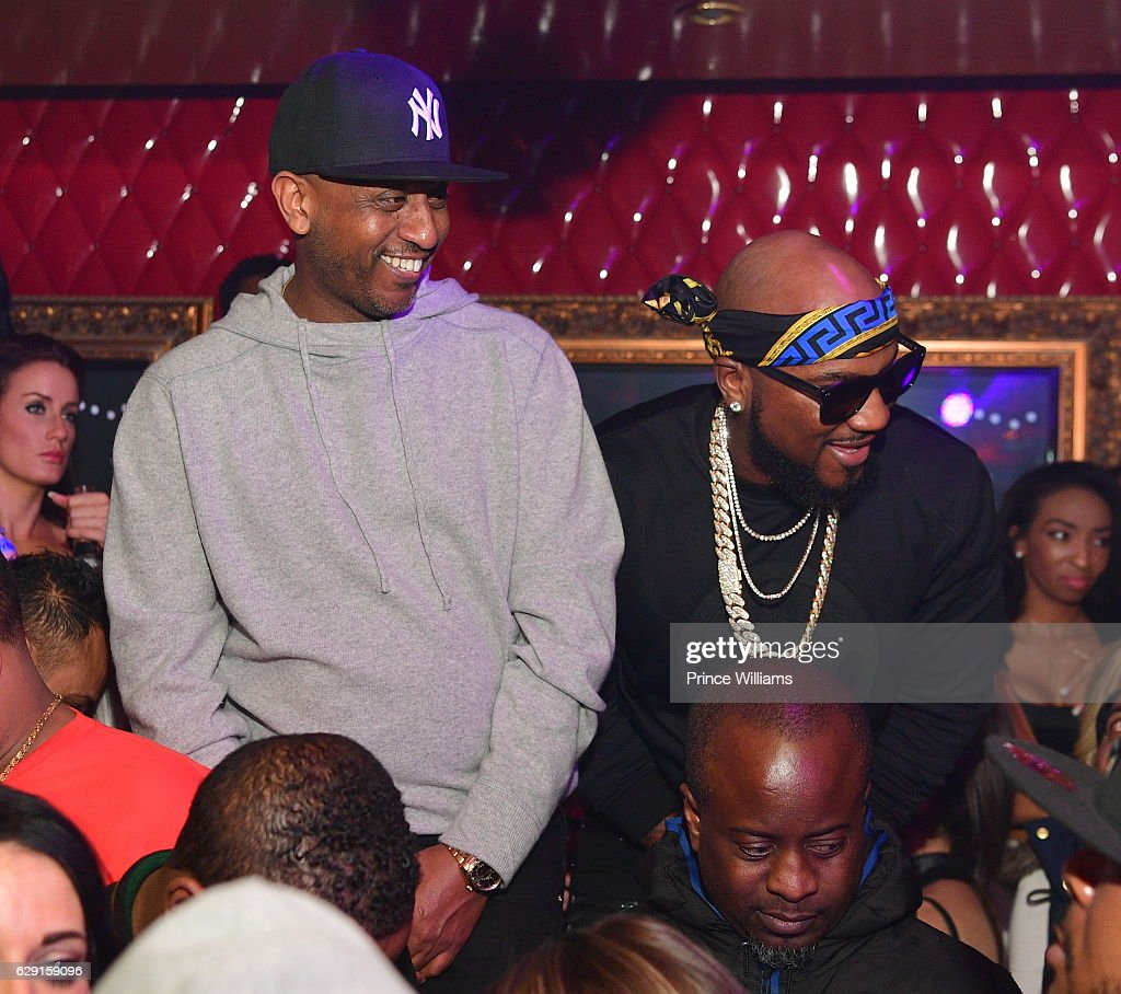 Alex Gidewon and Young Jeezy attend the Concert afterparty featuring Jeezy + Wayne at Compound on December 11, 2016 in Atlanta, Georgia.