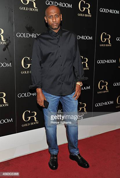 Alex Gidewon attends Gold Room Monday Nights at Gold Room on September 21 2014 in Atlanta Georgia