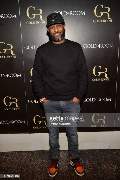 Alex Gidewon attends 'No Cap' Tuesday The Biggest Party Of The Year at Gold Room on January 16 2018 in Atlanta Georgia