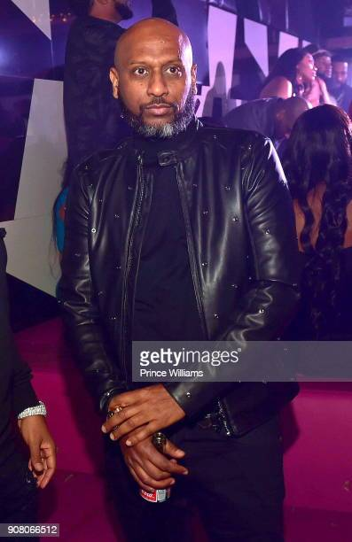 Alex Gidewon attends the 1st Party of The Year at Gold Room on January 2 2018 in Atlanta Georgia
