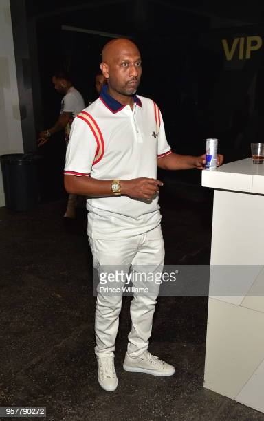 Alex Gidewon attends The All White Affair at Gold Room on May 12 2018 in Atlanta Georgia