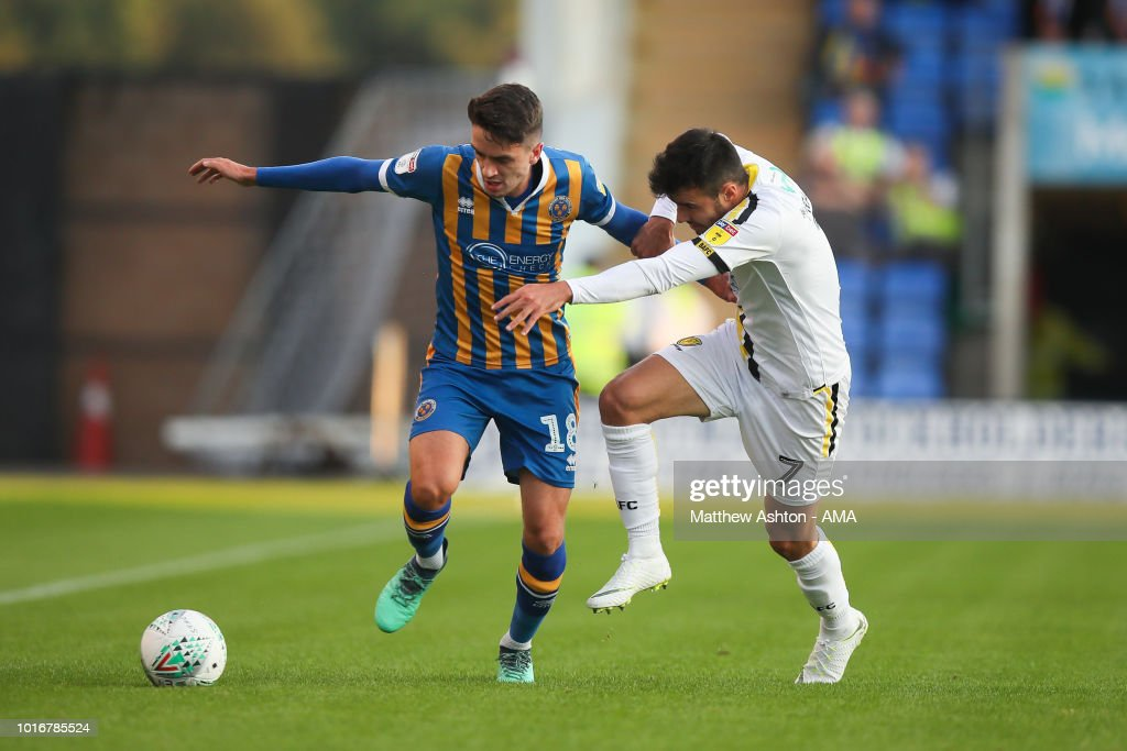 Shrewsbury Town v Burton Albion - Carabao Cup First Round