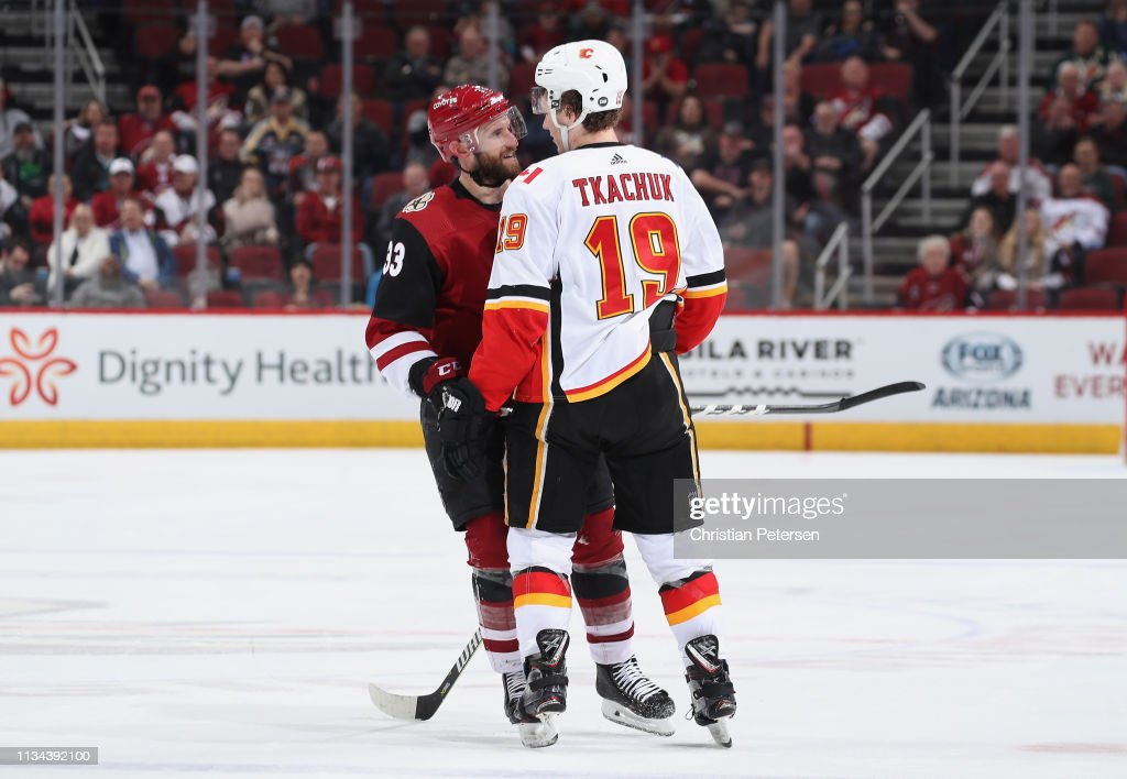 Calgary Flames v Arizona Coyotes : News Photo