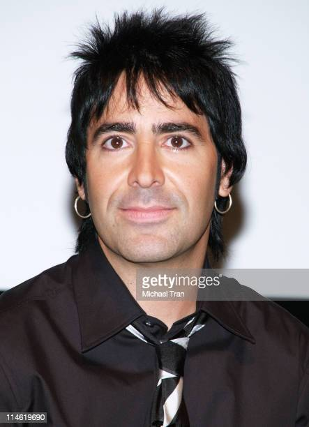 Alex Gonzalez of Mana during Mana Celebrates The Release of Their New CD 'Amar Es Combatir' on Warner Music Latina at Museum of Television and Radio...