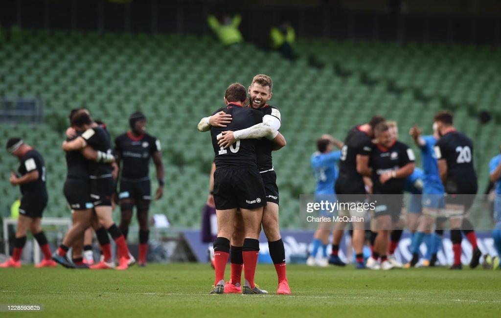 Leinster Rugby v Saracens - Heineken Champions Cup: Quarter Final : ニュース写真