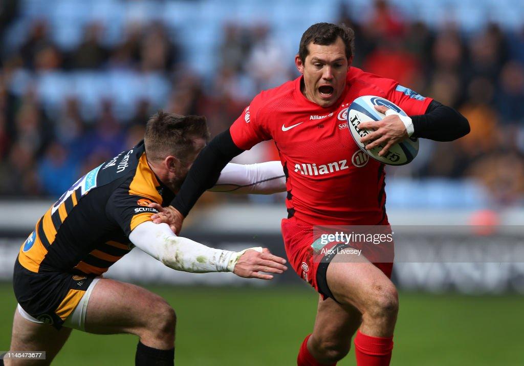 Wasps v Saracens - Gallagher Premiership Rugby : News Photo