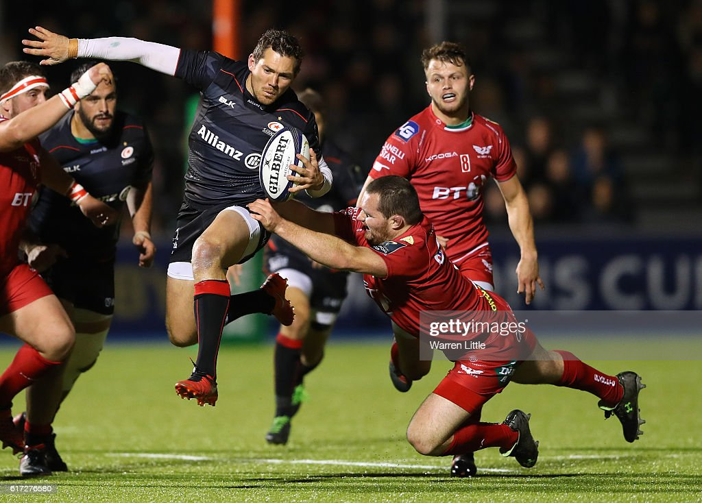 Saracens v Scarlets - European Rugby Champions Cup