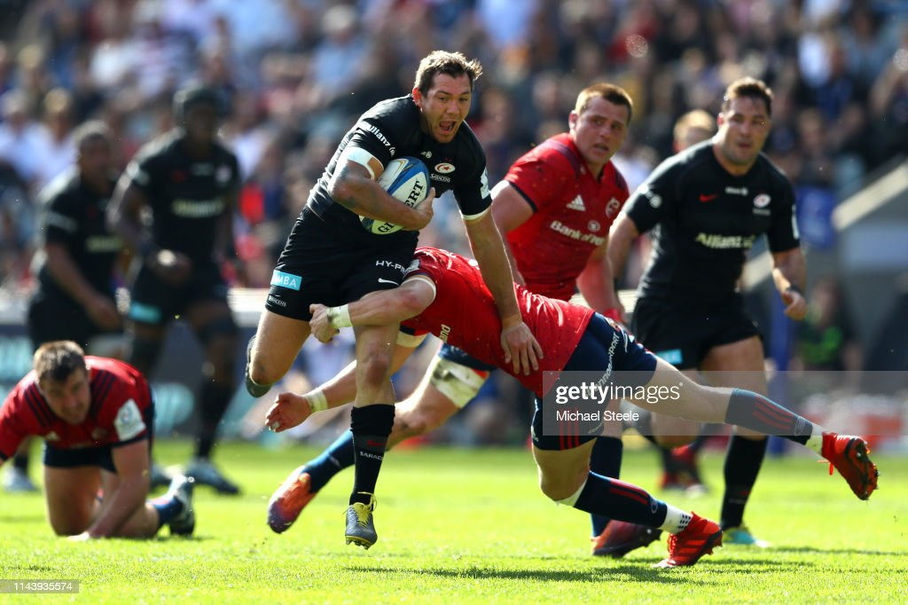 Saracens v Munster - Heineken Champions Cup Semi-Final : News Photo
