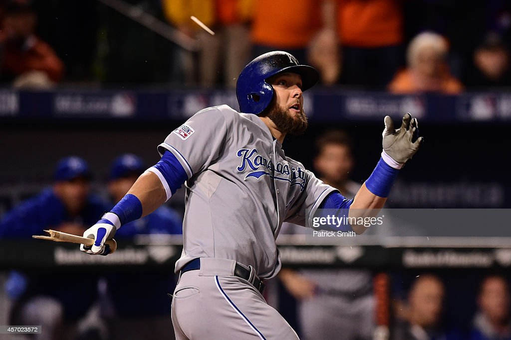 ALCS - Kansas City Royals v Baltimore Orioles - Game One : News Photo