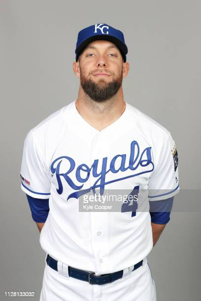 Alex Gordon of the Kansas City Royals poses during Photo Day on Thursday February 21 2019 at Surprise Stadium in Surprise Arizona