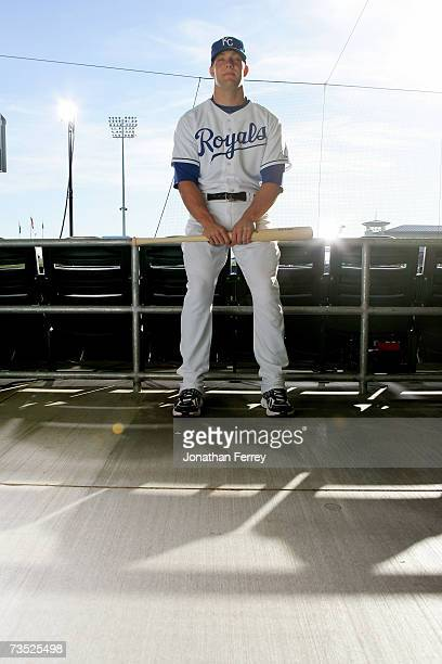 Alex Gordon of the Kansas City Royals poses for a portrait during Photo Day on February 25 2007 at Surprise Stadium in Surprise Arizona
