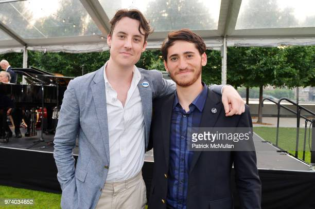Alex Gore and Garon Rothenberg attend the Franklin D Roosevelt Four Freedoms Park's gala honoring Founder Ambassador William J Vanden Heuvel at...