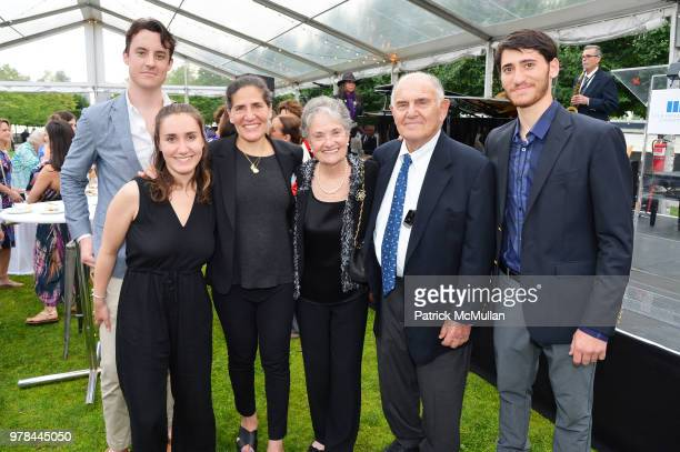 Alex Gore Brice Rothenberg Zerline Goodman Fritzy Goodman Jack Goodman and Garon Rothenberg attend the Franklin D Roosevelt Four Freedoms Park's gala...