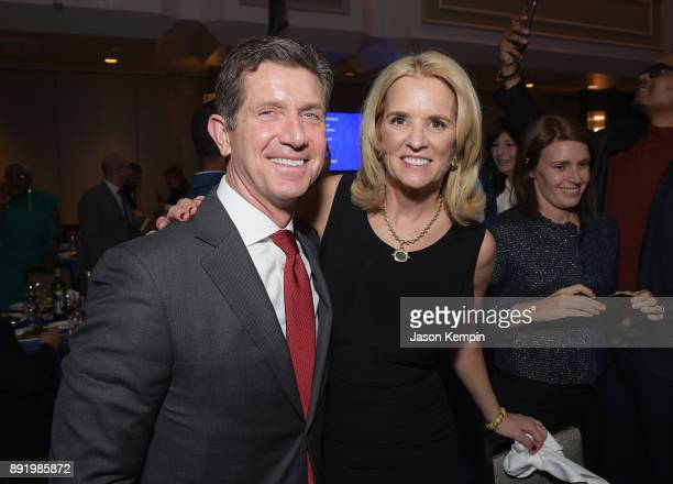 Alex Gorsky and Kerry Kennedy attend Robert F Kennedy Human Rights Hosts Annual Ripple Of Hope Awards Dinner on December 13 2017 in New York City