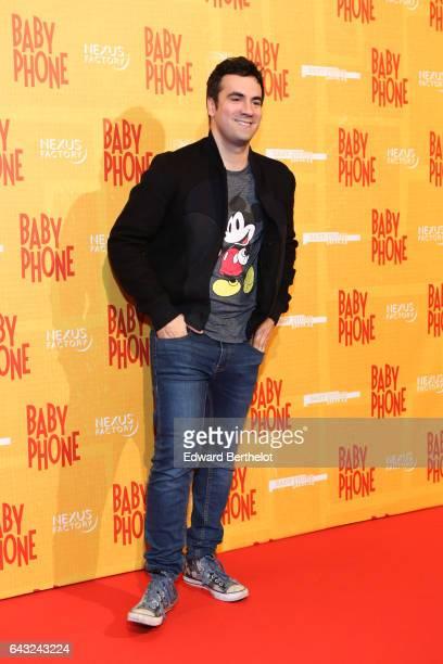 Alex Goud during Baby Phone Paris Premiere at Cinema UGC Normandie on February 20 2017 in Paris France