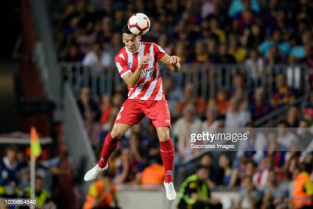Alex Granell of Girona during the La Liga Santander match between FC Barcelona v Girona at the Camp Nou on September 23 2018 in Barcelona Spain