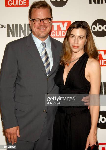 Alex Graves And KJ Steinberg During ABC TV Guide Warner Bros Television Present The