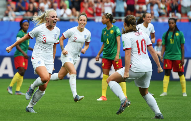 FRA: England v Cameroon: Round Of 16  - 2019 FIFA Women's World Cup France