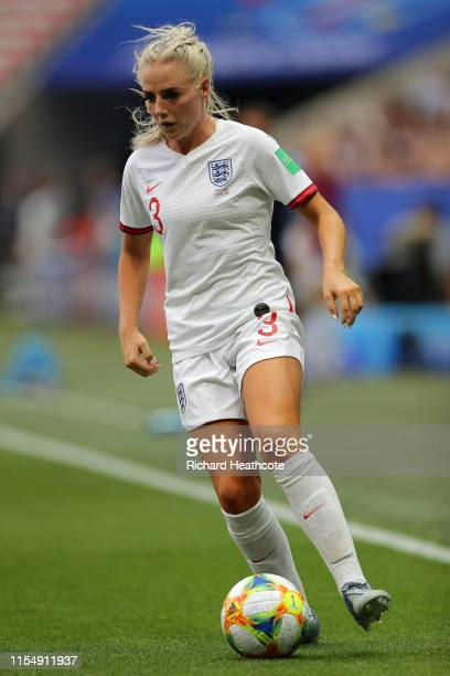 Alex Greenwood of England during the 2019 FIFA Women's World Cup France group D match between England and Scotland at Stade de Nice on June 09 2019...