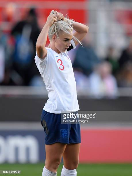 Alex Greenwood of England Women during the International Friendly Women match between England v Sweden at the Aesseal New York Stadium on November 11...