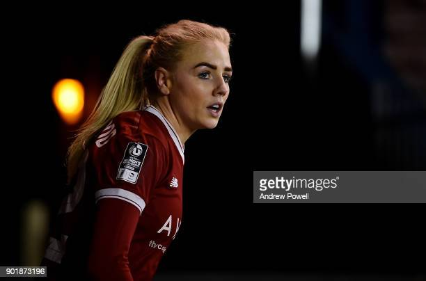Alex Greenwood of Liverpool Ladies during the FA Women's Super League match between Liverpool Ladies and Yeovil Town Ladies at Select Security...