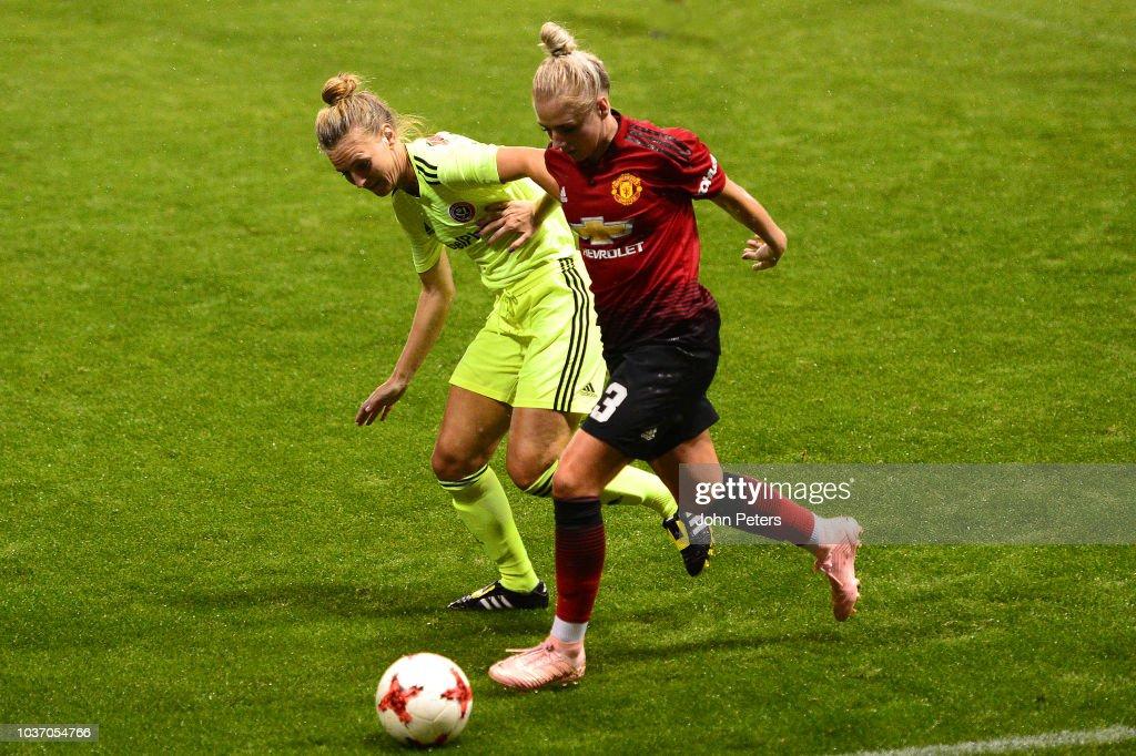 Manchester United Women v Sheffield United Women - FA Women's Championship : News Photo