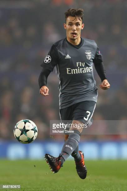 Alex Grimaldo of Benfica during the UEFA Champions League group A match between Manchester United and SL Benfica at Old Trafford on October 31 2017...