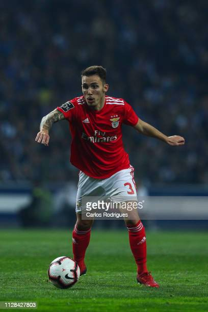 Alex Grimaldo of SL Benfica during the Liga NOS match between FC Porto and SL Benfica at Estadio do Dragao on March 2 2019 in Porto Portugal
