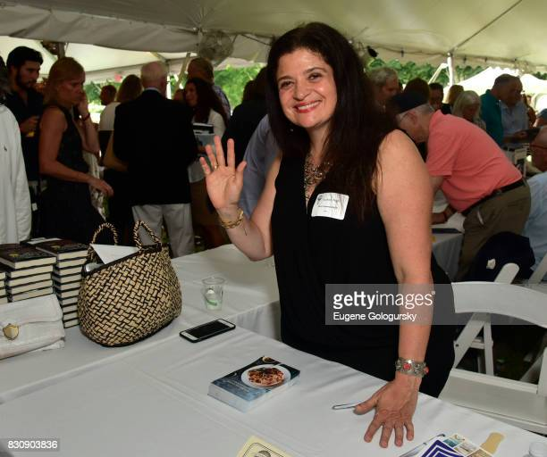 Alex Guarnaschelli attends Authors Night 2017 At The East Hampton Library at The East Hampton Library on August 12 2017 in East Hampton New York