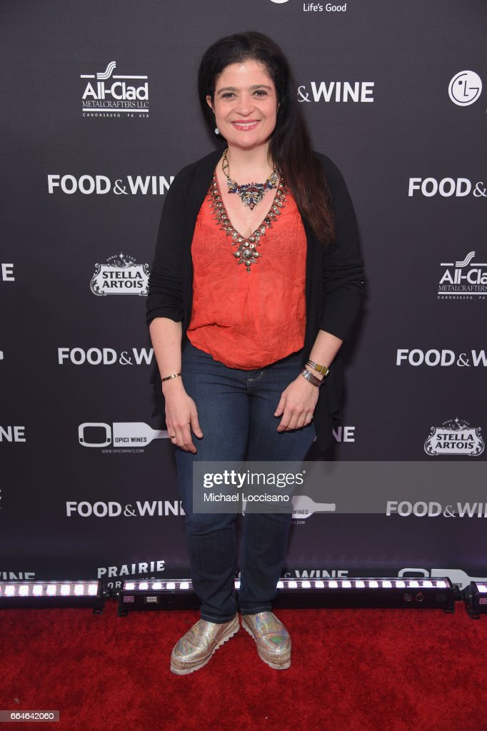 Alex Guarnaschelli attends the Food & Wine Celebration of the 2017 Best New Chefs on April 4, 2017 in New York City.