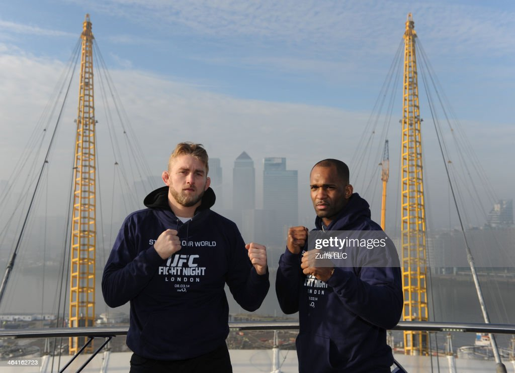 Alex Gustafsson and Jimi Manuwa UFC Press Tour