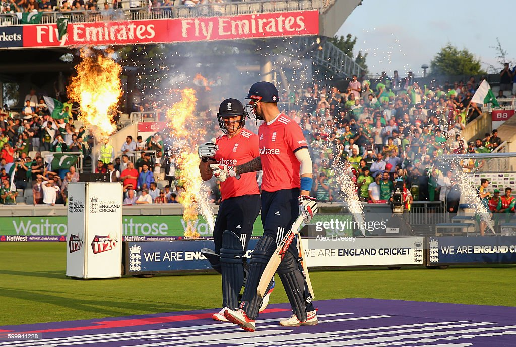 England v Pakistan - NatWest International T20 : News Photo