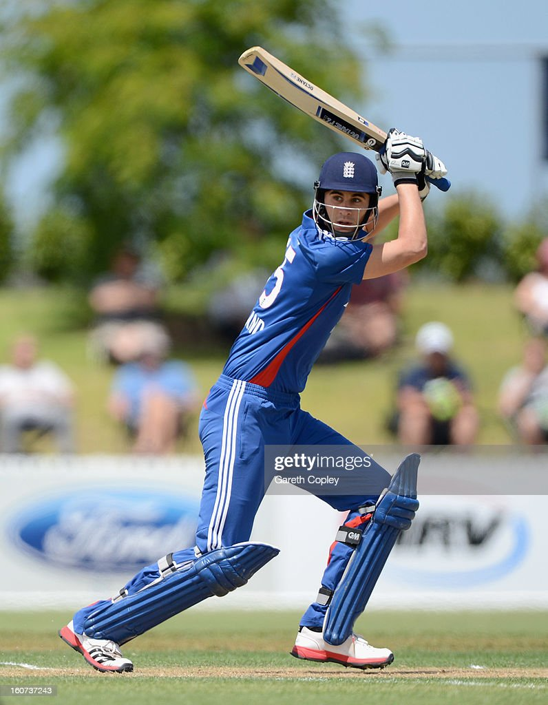 Alex Hales of England bats during a T20 Practice Match between New Zealand XI and England at Cobham Oval on February 5, 2013 in Whangarei, New Zealand.