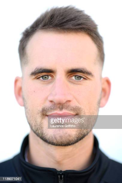 Alex Hales of Nottinghamshire County Cricket Club poses for a portrait during the Nottinghamshire CCC Photocall at Trent Bridge on March 29 2019 in...