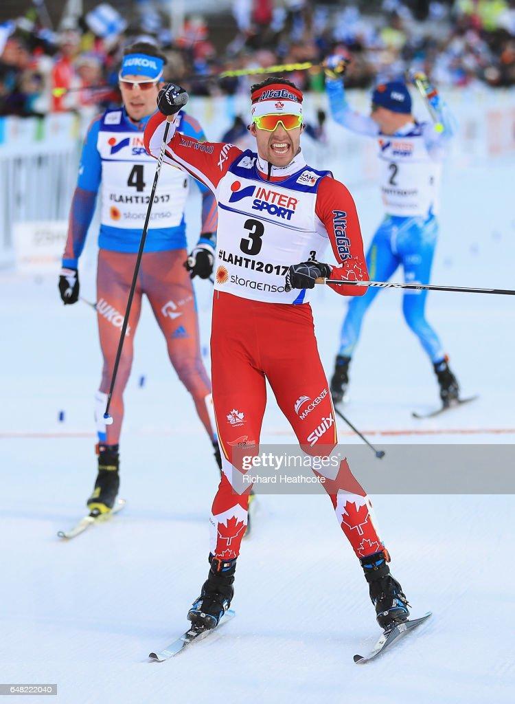 Men's Cross Country Mass Start - FIS Nordic World Ski Championships : News Photo