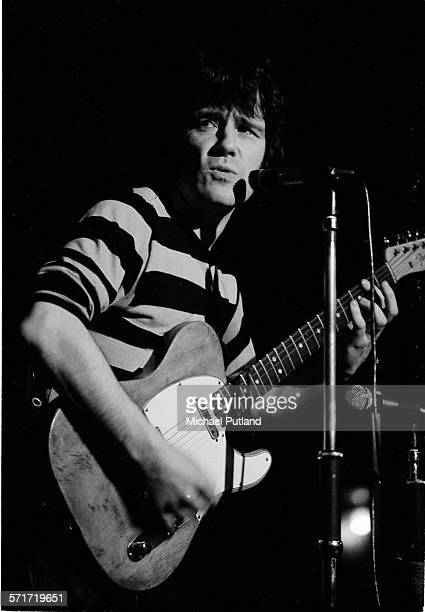Alex Harvey performs on stage in London 1972