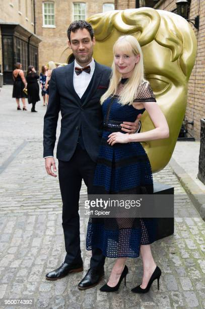Alex Hassell and Emma King attend the BAFTA Craft Awards held at The Brewery on April 22, 2018 in London, England.