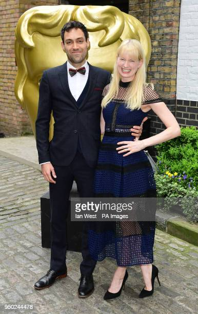 Alex Hassell and Emma King attending the BAFTA Craft Awards at the Brewery in London