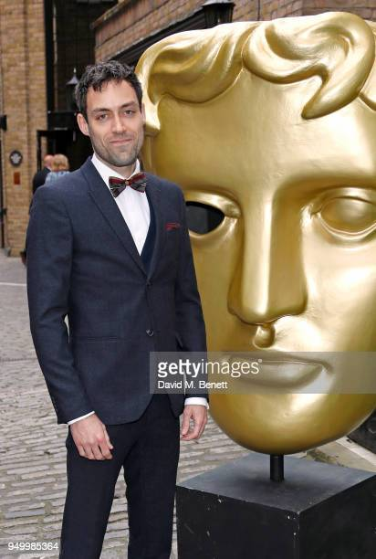 Alex Hassell arrives at the British Academy Television Craft Awards held at The Brewery on April 22 2018 in London England