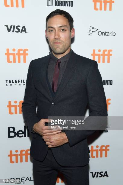 "Alex Hassell attends the premiere of ""Suburbicon"" during the 2017 Toronto International Film Festival at Princess of Wales on September 9, 2017 in..."