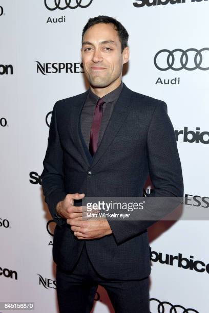 "Alex Hassell attends the ""Suburbicon"" post premiere party hosted by Nespresso and Audi during the 2017 Toronto International Film Festival held at..."