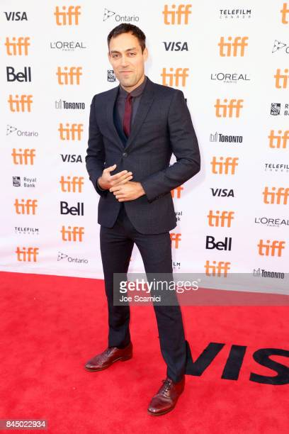 "Alex Hassell attends the ""Suburbicon"" premiere during the 2017 Toronto International Film Festival at Princess of Wales Theatre on September 9, 2017..."