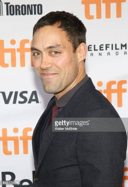 Alex Hassell attends the 'Suburbicon' premiere during the 2017 Toronto International Film Festival at Princess of Wales Theatre on September 9, 2017...
