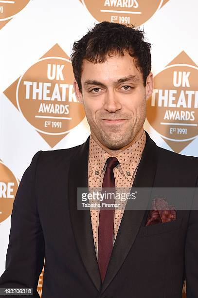Alex Hassell is nominated for Best Supporting Performance for his role in Death Of A Sallesman, at the UK National Theatre Awards 2015 at The...