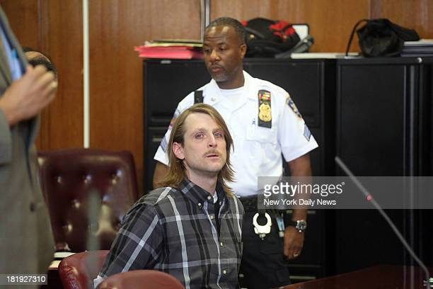 Alex Hausner in Manhattan Supreme Court on where he learned he was found mentally unfit to stand for trial Hauser was charged with stalking CNN...