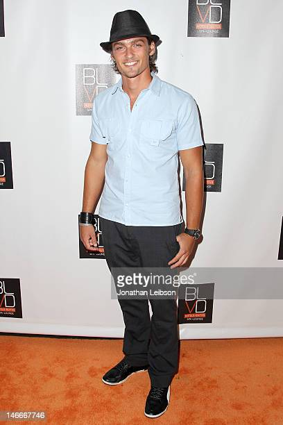 Alex Heartman attends the The BLVD Hotels 1 Year Anniversary Celebration Studio City CA at The Blvd Hotel Spa on June 21 2012 in Studio City...