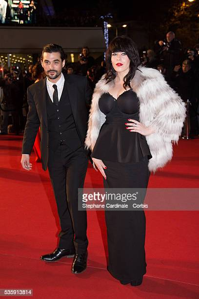 Alex Hepburn and guest attend the 15th NRJ Music Awards at Palais des Festivals in Cannes