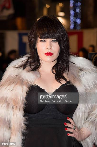 Alex Hepburn attends the 15th NRJ Music Awards at Palais des Festivals in Cannes