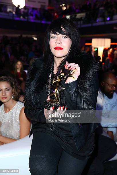 Alex Hepburn attends the InTouch Awards 2014 at Port Seven on October 23 2014 in Duesseldorf Germany